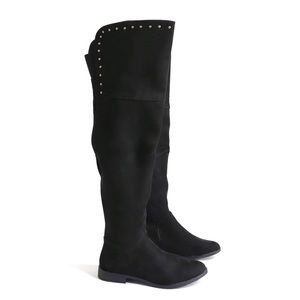XOXO Travis Studded Over The Knee Boots 8